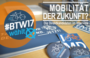 Fahrrad wählt – Interviews zur Bundestagswahl
