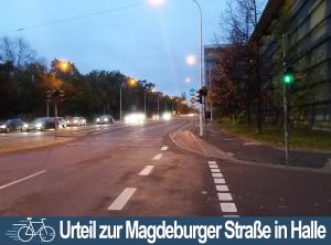 Verwaltungsgericht entscheidet über Magdeburger Straße in Halle