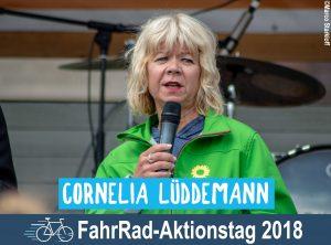 Cornelia Lüddemann – Eröffnungsrede zum FahrRad-Aktionstag 2018