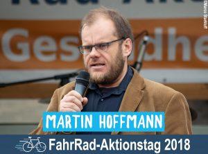 Martin Hoffmann – Eröffnungsrede zum FahrRad-Aktionstag 2018