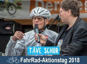 Täve Schur beim FahrRad-Aktionstag 2018