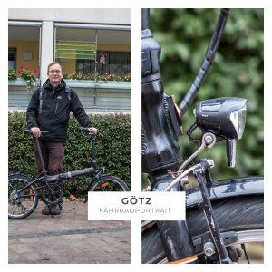 Fahrradportrait: Götz (54)