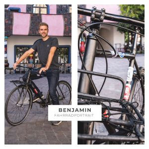 Fahrradportrait: Benjamin (29)