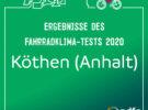 Ergebnisse Fahrradklima-Test Köthen (Anhalt)